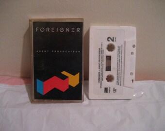 Agent Provocateur by Foreigner (Cassette, Dec-1984, Atlantic (Label))
