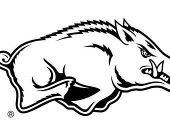 Arkansas Razorbacks SVG Digital File