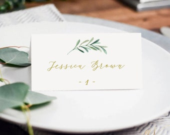 Diy place cards | Etsy