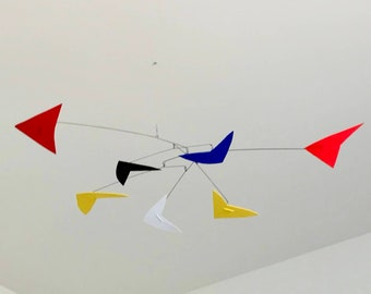 44 Inch Kinetic Mobile Sculpture