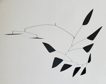 44 Inch Kinetic Mobile Sculpture made by J.E.