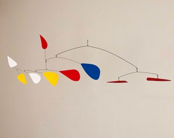 55 Inch Kinetic mobile Sculpte Made by J.E.