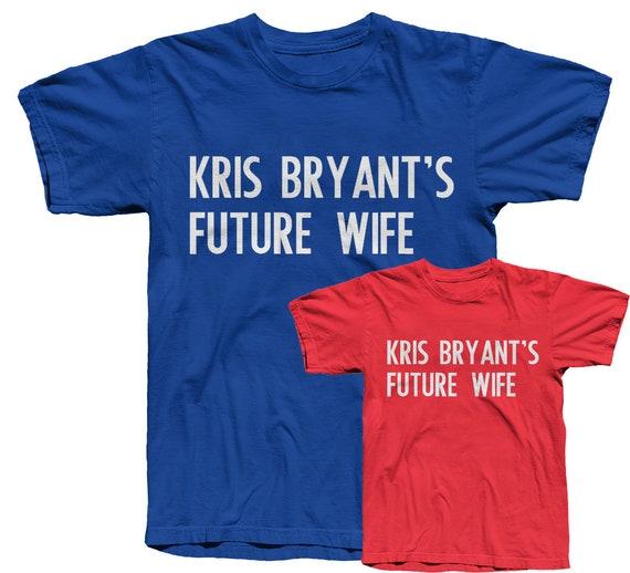 more photos 1a05a 60000 Kris Bryant, Cubs Shirt, Future Wife, Chicago Cubs, Baseball, Baseball  Shirt, Cubs World Series