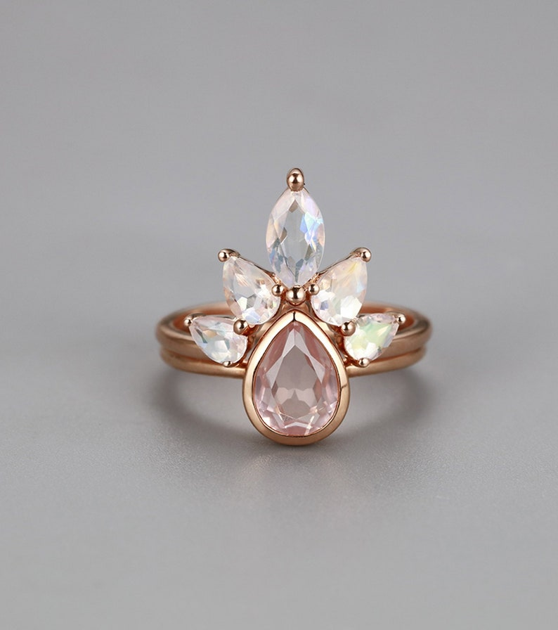 Nathis Moonstone Large Oval Bezel Set Ring
