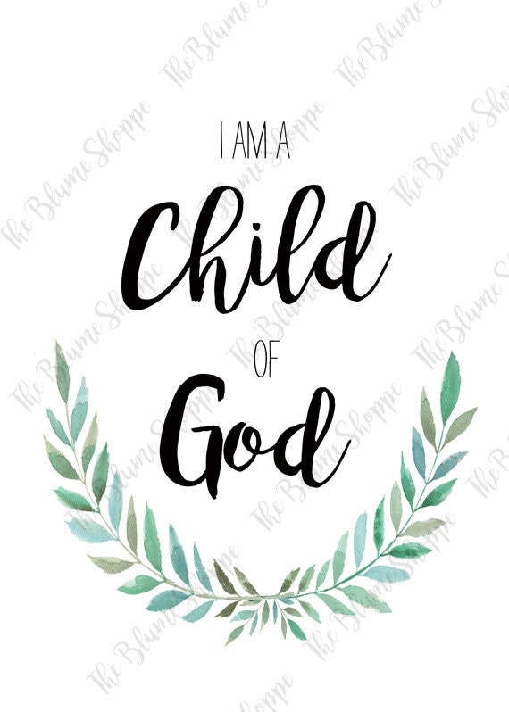 CHILD OF GOD | vine