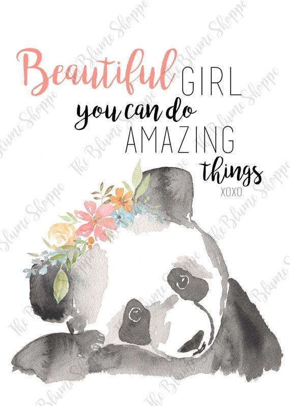 Beautiful Girl | Panda