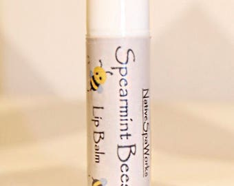 Spearmint Beeswax Lip Balm