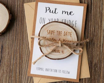 save the date magnet etsy