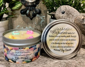 Be Mine 8oz. Natural Soy Candle Tin or 3oz Wax Melt, valentines day, gifts for her