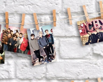 BTS EXO Mystery Grab Bag: High quality, large photo prints on professional photo paper. A fandom collectable by S'VELTE.