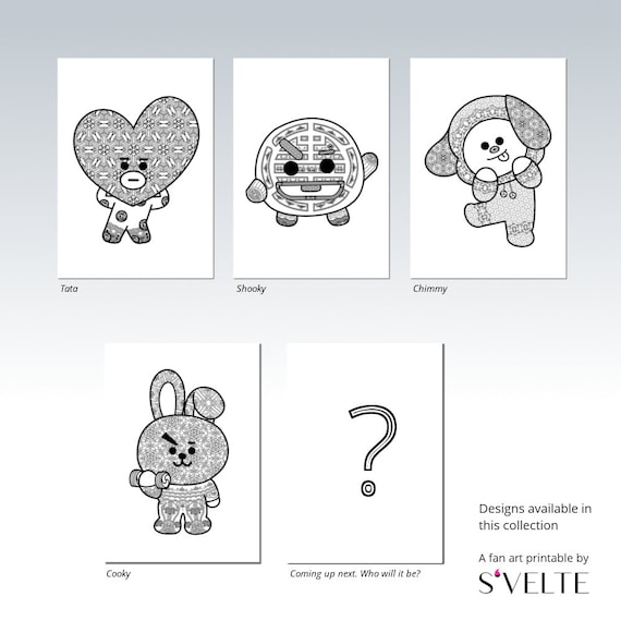 BT21 Chimmy by BTS Jimin Downloadable