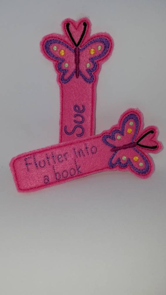 Kids Bookmark Butterfly Student Gifts Birthday
