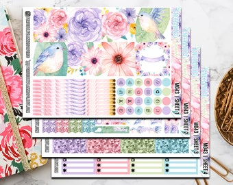 M043 | Enchanted Dreams // Full Weekly Kit // Mini Happy Planner Stickers