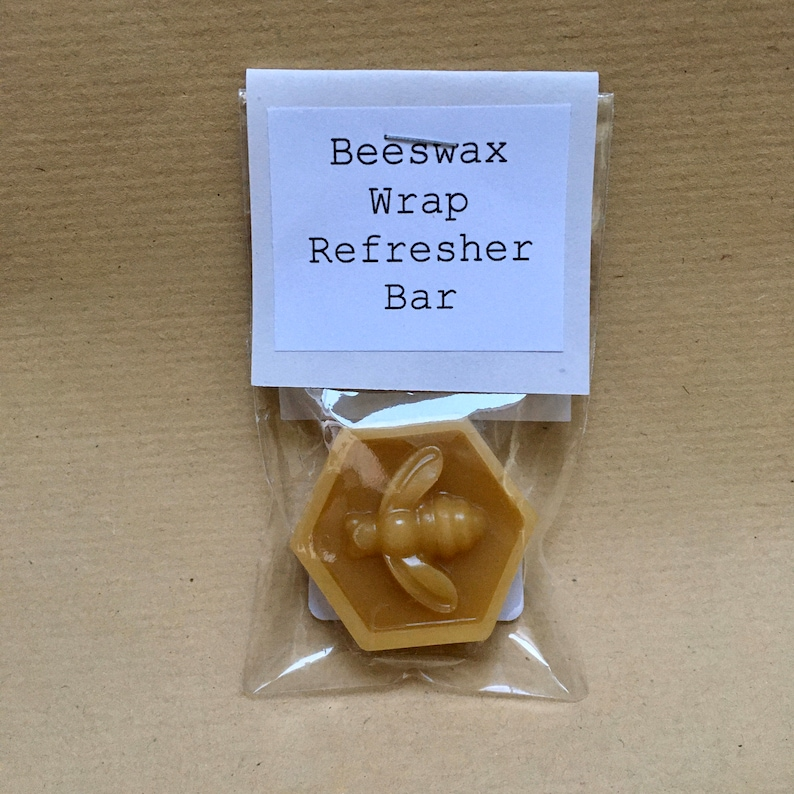 Beeswax Wrap Refresher Bar  Wrap Maker  Eco Kitchen Gift  image 0