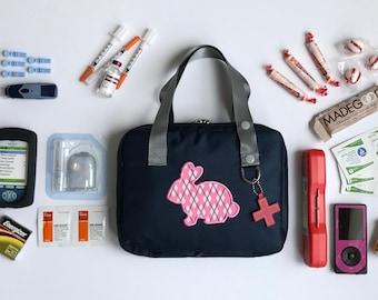 Diabetes Supply Bag/Type 1 Diabetes/Diabetic Supply Bag/Diabetes Bag/Diabetes/Insulin Bag/Insulin Case/Insulin Carrier/Diabetic Bag