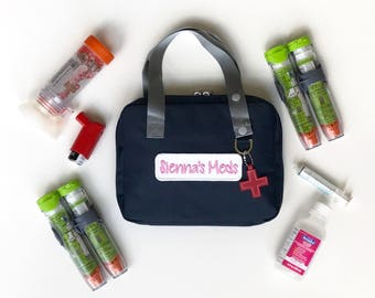 Epipen Case/Auvi-Q Case/Epi Carrier/Epipen Bag/Medicine Bag/Asthma and Allergy Bag/Diaper Bag/Travel Bag/Diabetes Supplies Bag/First Aid