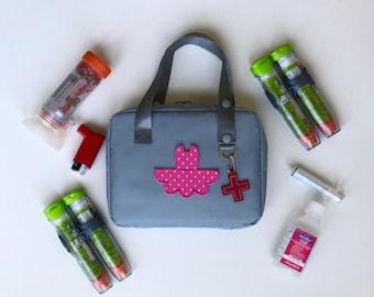 Epipen Case/Type 1 Diabetes/Epi Carrier/Epipen Bag/Medicine Bag/Asthma and Allergy Bag/Diaper Bag/Travel Bag/Diabetes Supplies Bag/First Aid