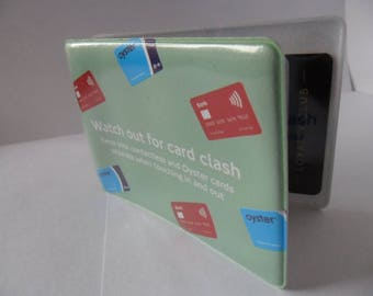2017 Oyster card  Credit Debit card clash cover London Oyster Card Holder Travel Card Holder with london tube underground map new