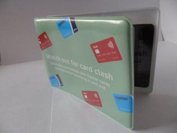 London Oyster Card Holder Travel Rail Card Holder Plastic New