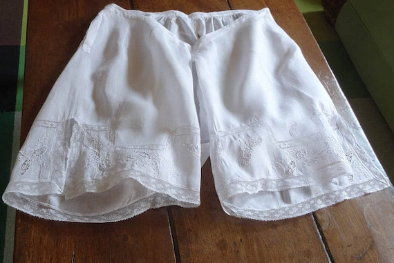 French knickers (bloomers)  with Valenciennes lace