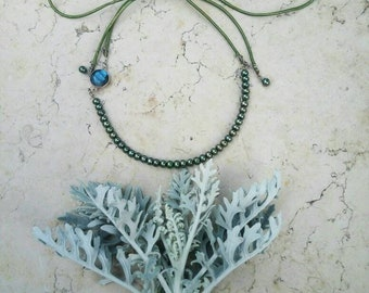 Boho- styled necklace, made  by spring mood,  best gift for woman