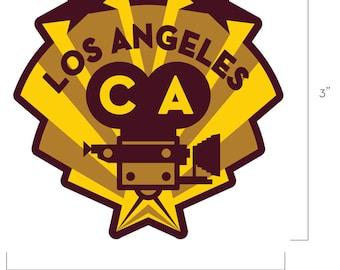 Los Angeles California Travel Sticker
