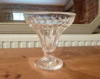 Gorgeous Large Crystal Cut Glass Vase