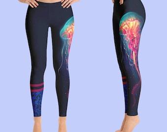 Leggings / Womens Leggings / Workout Leggings /Yoga Leggings / Printed Leggings / Yoga Pants / Artwork Leggings