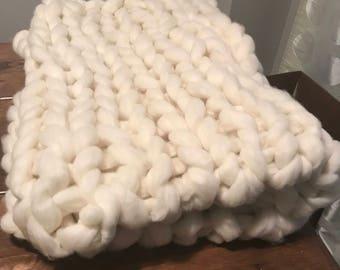 Gorgeous Merino Wool Throw