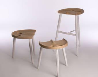 Urban White stool