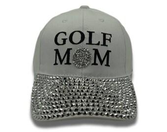 Golf Mom Bling Cap c08e31e7878a
