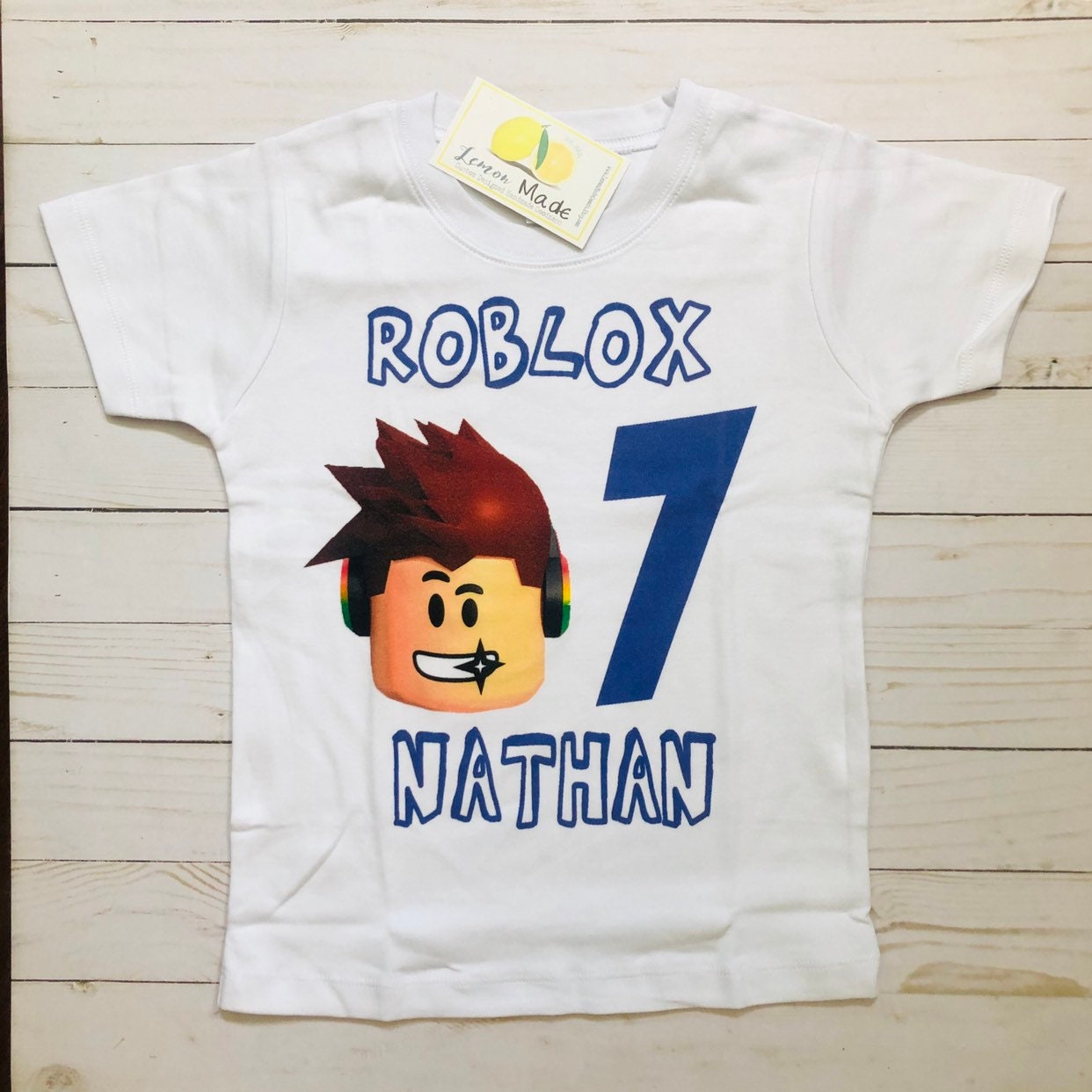 Lemon Shirt Roblox