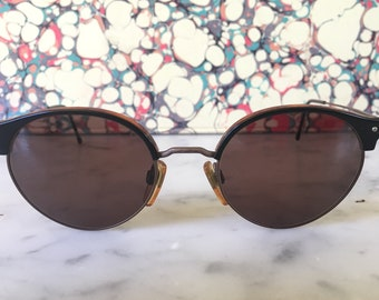 2622acfed2a Vintage Rare GIORGIO ARMANI Sunglasses Wayfarer Ray Bann Unisex 1990s  EXCELLENT Condition Made in Italy