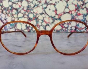 f6f3c3a9c08 GIORGIO ARMANI Rare VINTAGE 1980s frames glasses Unisex - Excellent  Condition (Ga 851 161) Hipster retro round