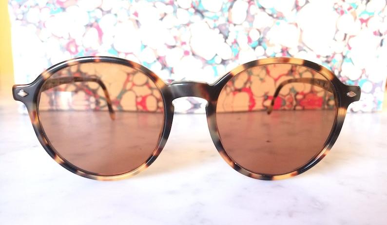 70b2f0319aeac Vintage Rare GIORGIO ARMANI Sunglasses Tortoiseshell Unisex