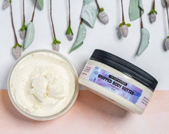 Summer Citrus | Body Butter 8oz | Shea Butter | Organic Body Butter | Belly Butter | Cocoa Butter | Dry Skin Moisturizing Body Butter