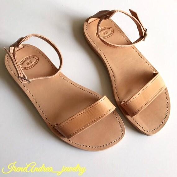 sandales Sandales sandales sandales sandales en sandales couleur femme anciennes grec de naturelle cuir romain zAW6rxzw1q