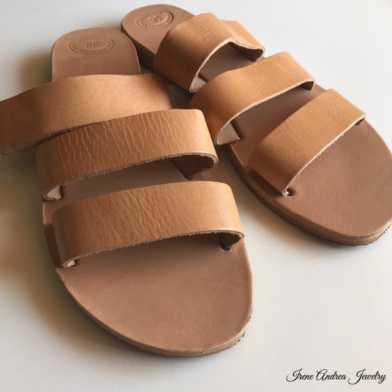 Sandals Greek Women's Ancient Leather Greece in Sandals Made Sandals Strappy Sandals Sandals Greek Sandals Roman Sandals Leather wBxYzgqB
