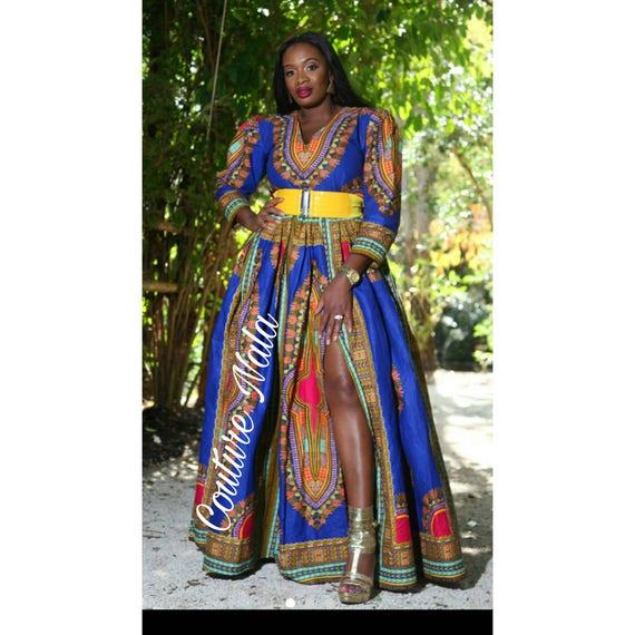 1d73473996e Dashiki maxi dress dashiki dress dashiki wedding dress