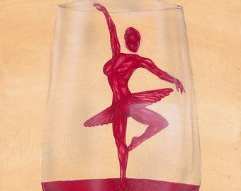 Wine Ballerina