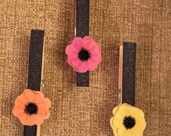 Floral Decorative Clothespins