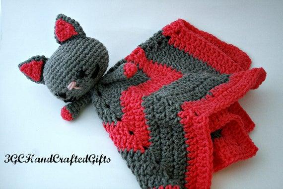 Reizende Decke häkeln häkeln Katze Deckchen häkeln | Etsy