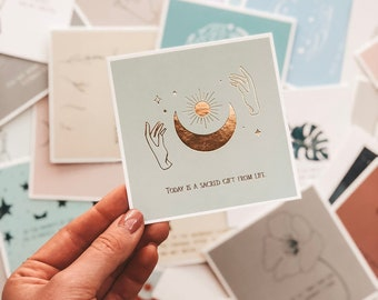 Be you: Affirmation Cards