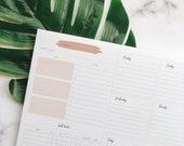 Embark: Weekly Notepad