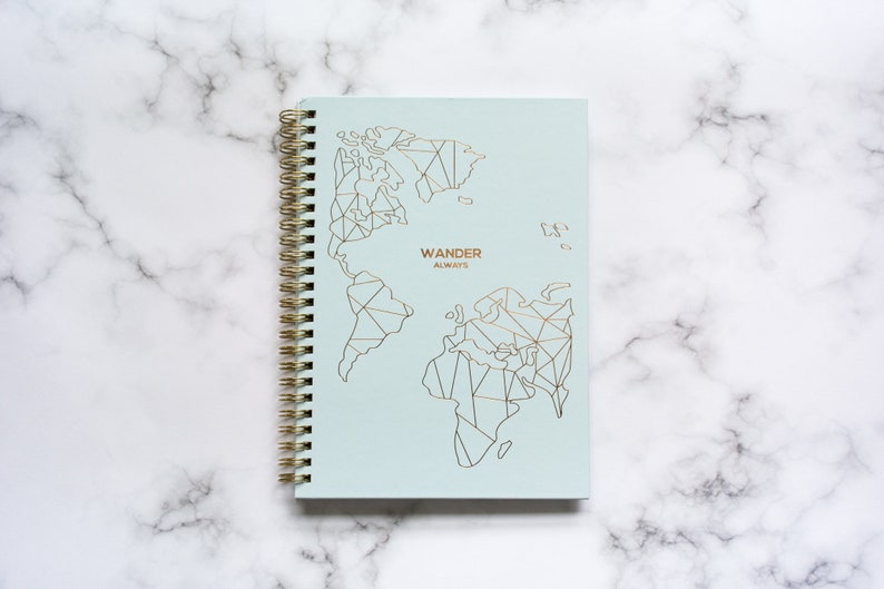 Wander Always: Travel Planner & Journal image 0