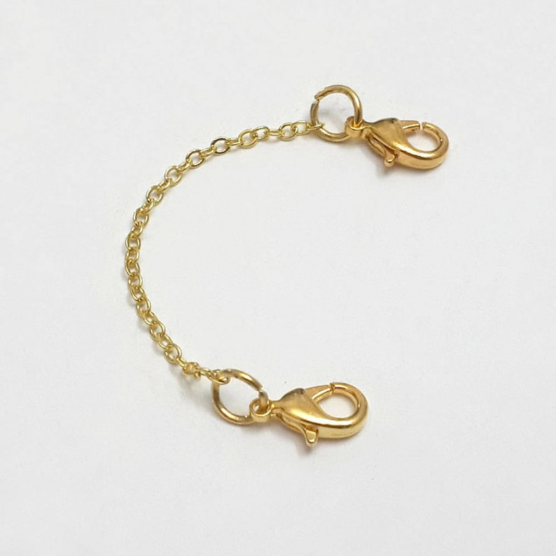"""-A06 8 1//2/"""" Colored Crystal Anklets with 3/"""" Extender Gold or Silver Plated -"""