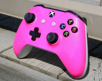 Xbox One S Controller - Bubble Gum Pink-Custom Painted