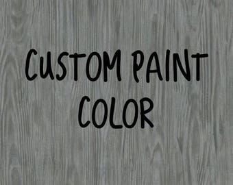 Custom Paint Color