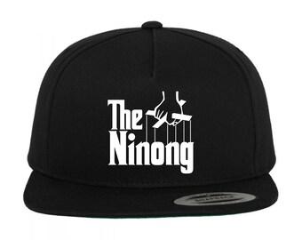 THE NINONG Black Snapback Hat (Multi-Color Vinyl Design Variations) 25522d3eec19