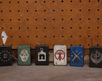 Fallout Inspired Faction Lighters